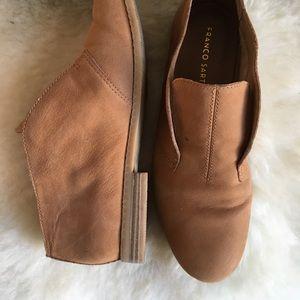 Franco Sarto slip on suede shoes